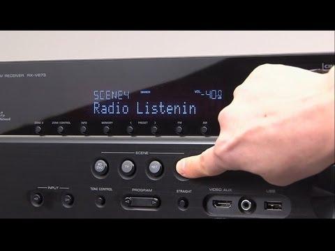 Yamaha AV Receiver -SCENE on