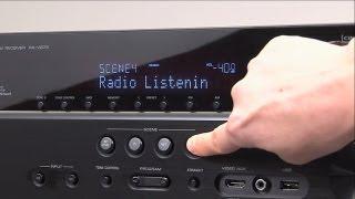 Yamaha AV Alıcısı -SAHNE