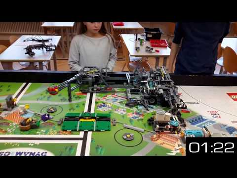 FLL Hydro Dynamics FULL 535 Points in 2'16''