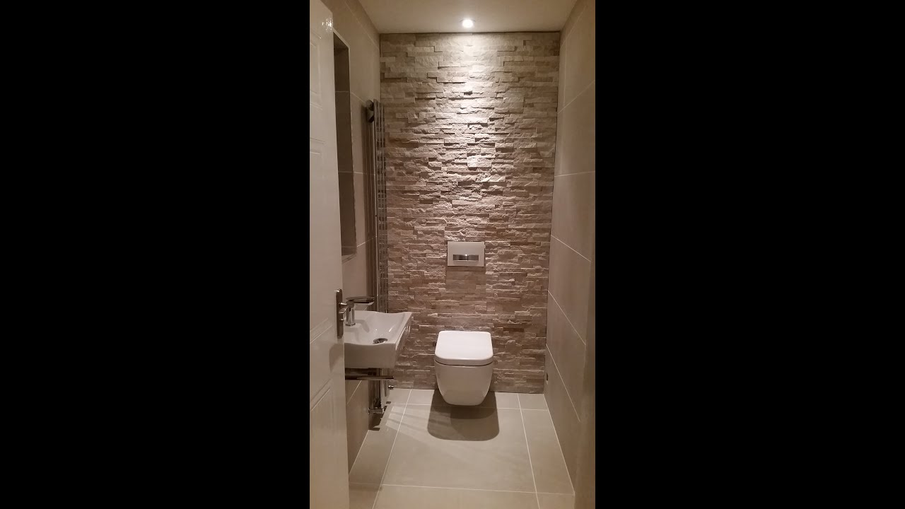 Cloakroom WC Project  YouTube