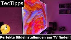 Perfekte Bildeinstellungen am TV finden! | LG C8 OLED-TV | TecTipps | Ratgeber | 4K