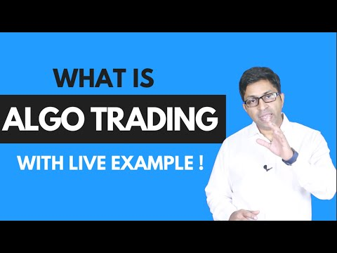 What is Algo Trading? Using Live Examples