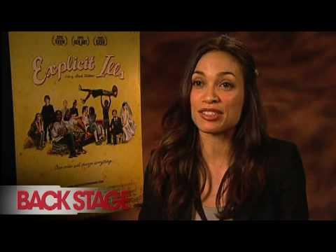'Explicit Ills': Rosario Dawson