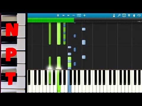 Meek Mill ft. Nicki Minaj - Bad For You - EPIC Piano Cover - Synthesia Instrumental Remix