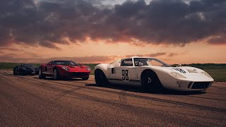 1969 Ford Original GT40 Competition Car VS 2006 Ford GT VS 2018 Ford GT Competition