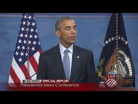 Obama Discusses Fight Against ISIS