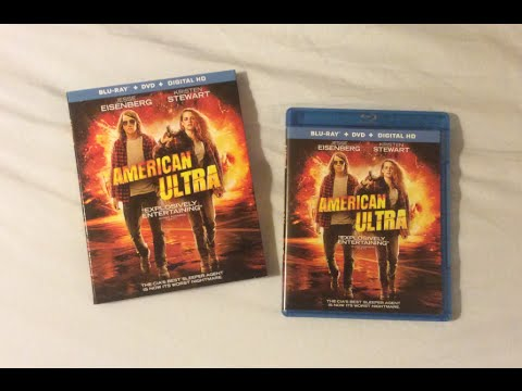 American Ultra (2015) Blu Ray Review and Unboxing