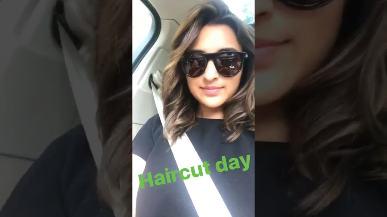 Parineeti Chopra New Hair Style