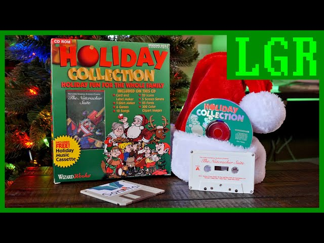 The 1995 WizardWorks Holiday Collection CD-ROM