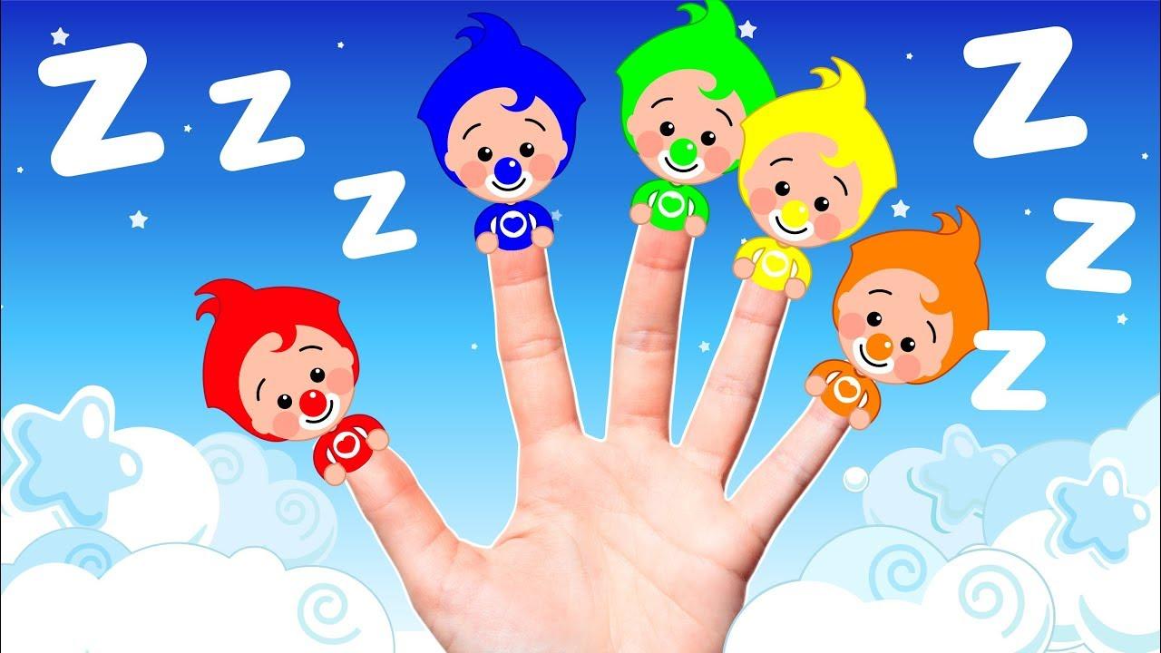 La Familia Dedos de Colores de Plim Plim - Para Dormir | El Reino Infantil