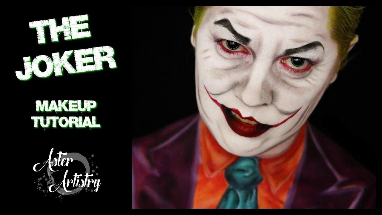Joker Makeup Transformation Youtube - Joker-makeup-tutorial