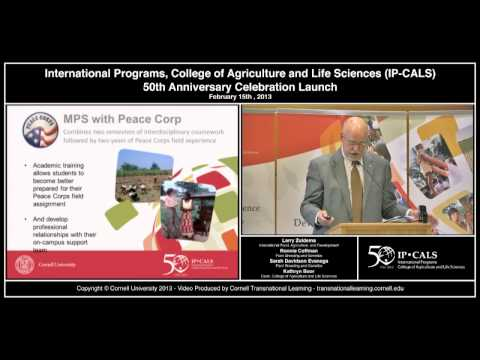 International Programs - CALS 50th Anniversary Launch