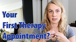 What happens during a first therapy appointment?