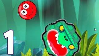 Moon Ball - Gameplay 1 - Przygody Czerwonej Kuleczki (iOS, Android)