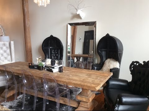 my-rustic-goth-glam-dining-room!
