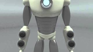 3ds Max Robot Weapons Systems Test