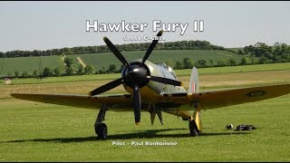 Hawker Fury II, SR661, G-CBEL - Flown by Paul Bonhomme thumbnail