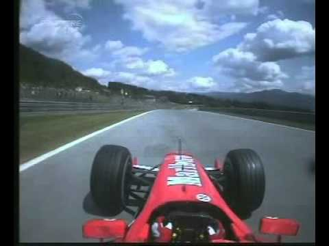 F1 Austria A1-Ring 2003 Q1 - Michael Schumacher Onboard Lap