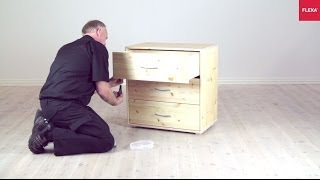 Flexa Storage Chest With Drawers Assembly Instruction
