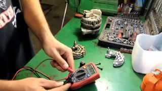 Ремонт генератора ЗАЗ Chance/ Daewoo Lanos/ Chevrolet Lanos. Замена диодного моста. [GWS161]