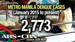 Dengue cases up in Metro Manila, Misamis Oriental