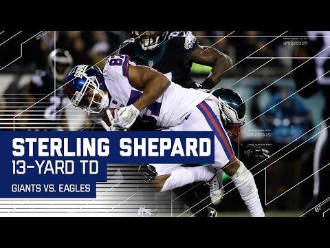 Sterling Shepard Shakes Jenkins to Cut Eagles Lead!   Giants vs. Eagles   NFL Week 16 Highlights
