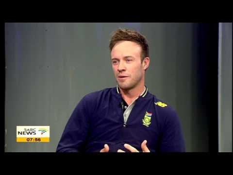 "AB de Villiers on his autobiography titled ""AB"""