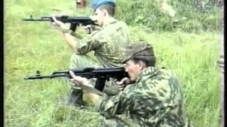Обучение  стрельбе с колена. Зрыбнев Н А
