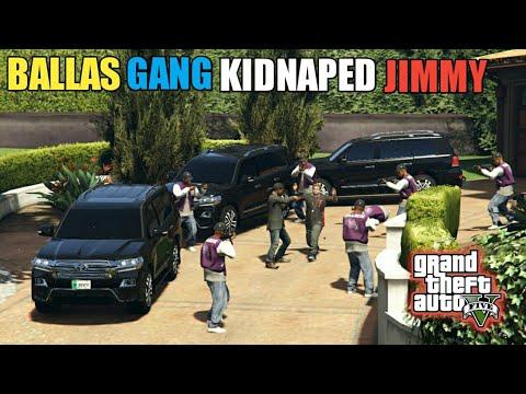 GTA 5   Gang Protocol   Ballas Gang Kidnapped Michael's Son   Gang War   Game Loverz  
