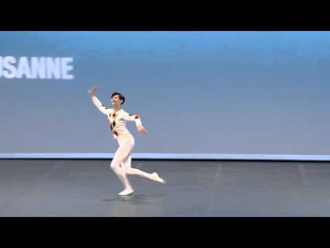 Dingkai Bai - 2016 Prix de Lausanne selections - classical variation