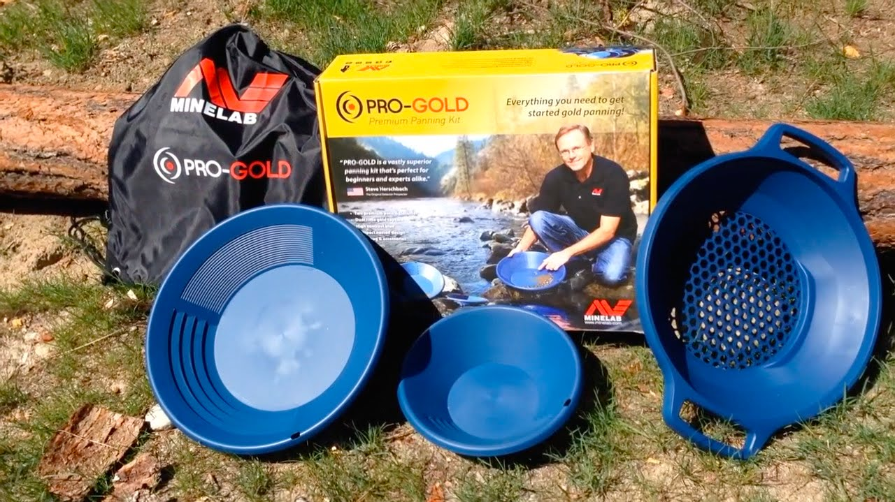 Minelab Pro-Gold, Gold Panning Kit Product Review