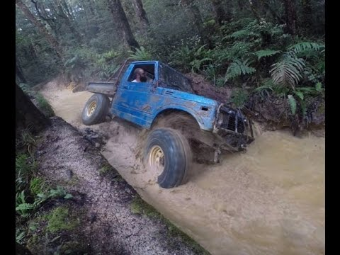 Zuks offroading west coast 2017