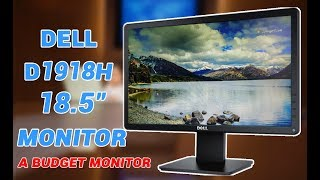 Dell D1918H 18.5 inch HD Monitor Unboxing and In-Depth Review