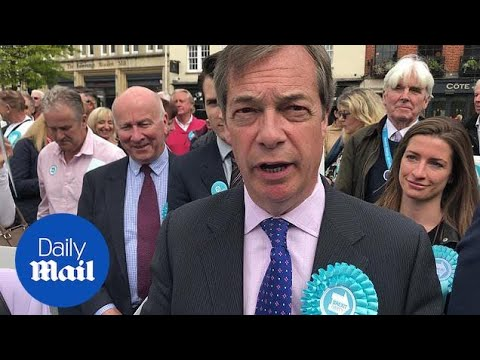 Farage Says He 'could Not Trust Boris' After His Brexit Flip-flop