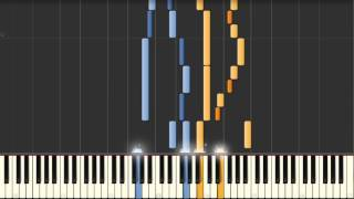 Goldberg Variation No. 30 (J.S. Bach) BWV 988 - Synthesia Piano Tutorial