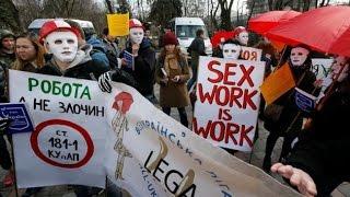Марш секс-работников и легализация проституции в Украине