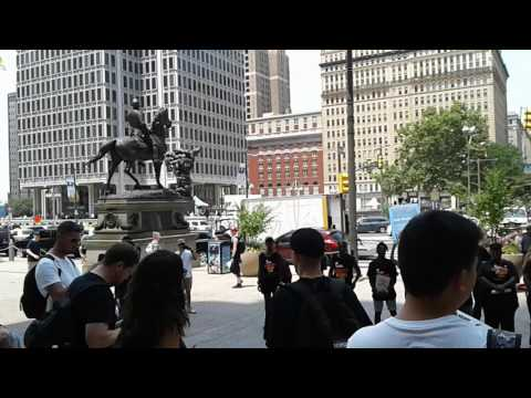 Revolutionary Communist Party at Philadelphia City Hall- DNC, 07.25.17