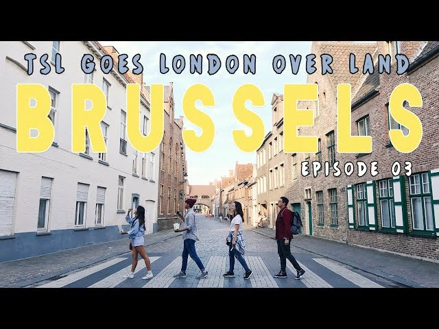 Brussels - 24 Hours In Europe's Candyland + GIVEAWAY! | Singapore To London OVER LAND! | EP 3