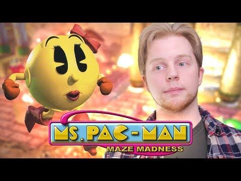 Ms. Pac Man: Maze Madness - Nitro Rad