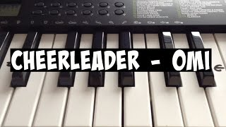 Cheerleader - Omi | Easy Keyboard Tutorial With Notes (Right Hand)