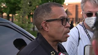 Detroit Police Chief: 'We're making a decision to support' protesters