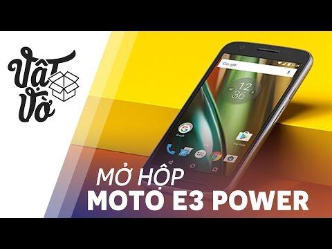 Vật Vờ| Mở hộp & đánh giá nhanh Moto E3 Power: 3500mAh, nhẹ, đậm chất Moto
