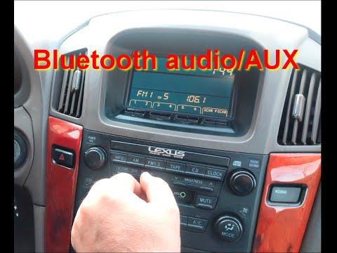 Bluetooth Audio/AUX в Lexus RX300