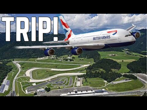 YOU Fly with me to Austria To The Redbull Racing Ring Circuit!