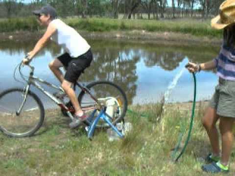how to make water bike