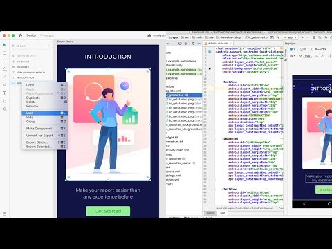 How To Convert Adobe Xd To Android Studio Tutorial