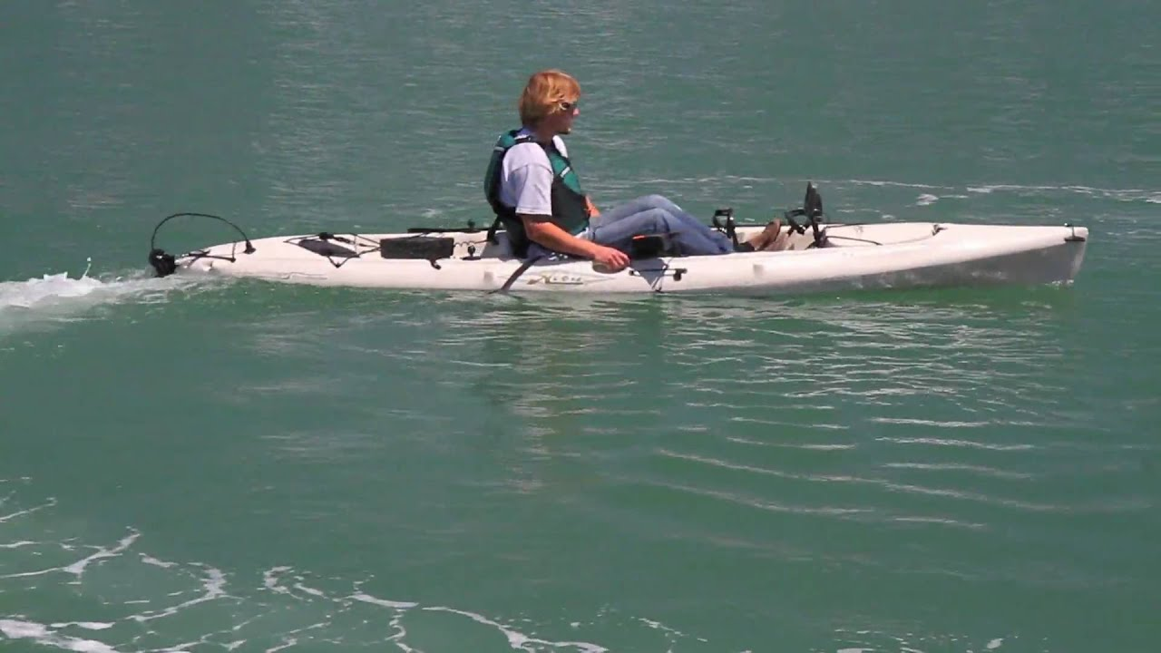 Hobie Revolution With The Evolve Motor Package Youtube