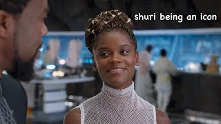 shuri being an icon
