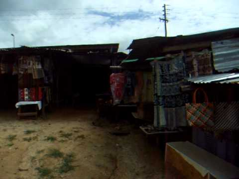 Roadside Crafts Market - Ezulwini - Swaziland - January 2011