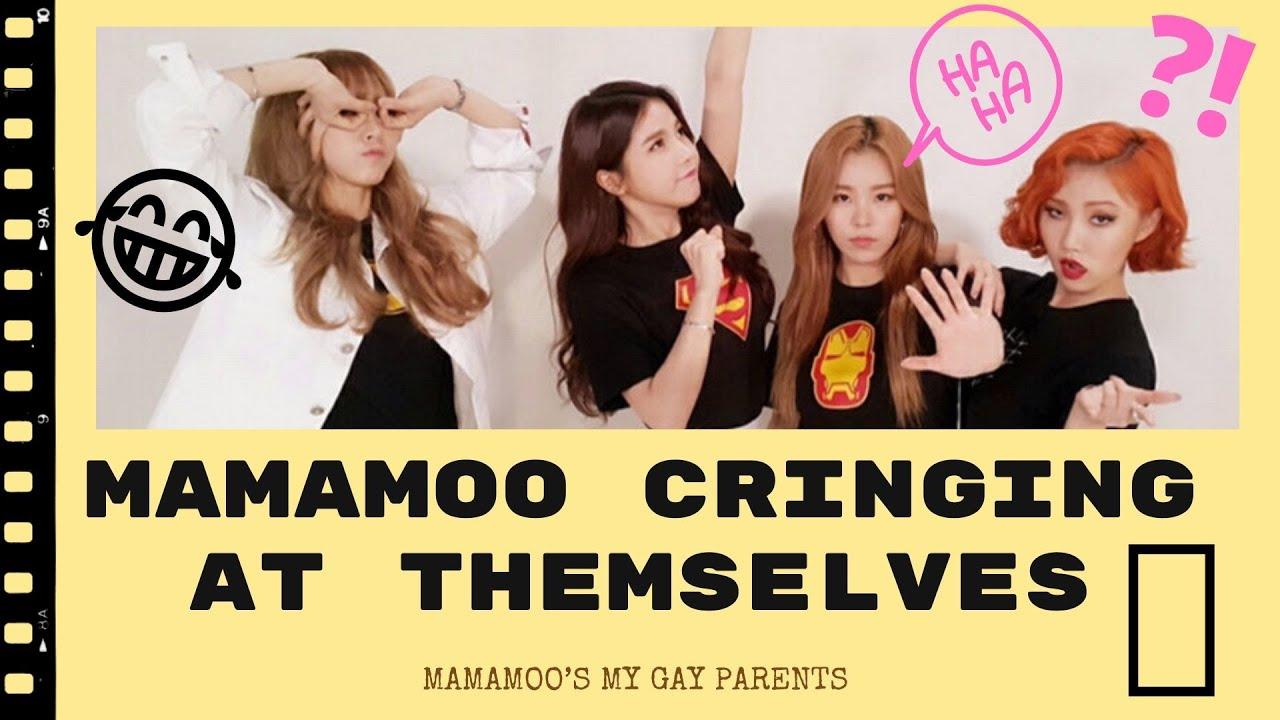 Mamamoo CRINGING at themselves (FUNNY Compilation) #SaveMamamoo